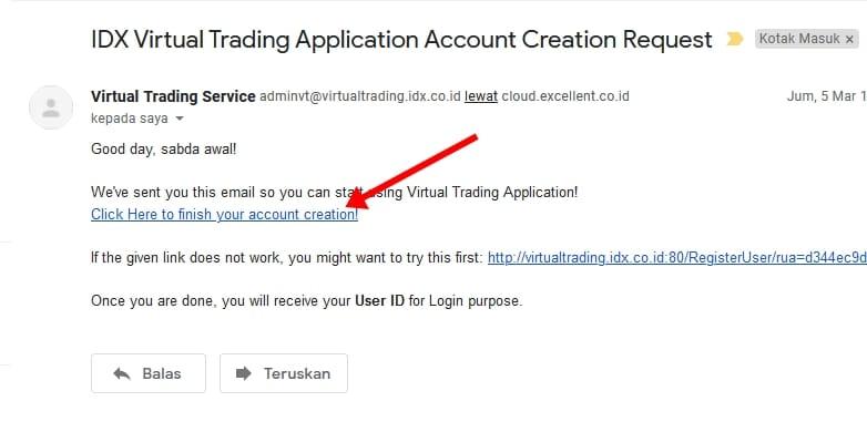 verifikasi email simulasi trading saham