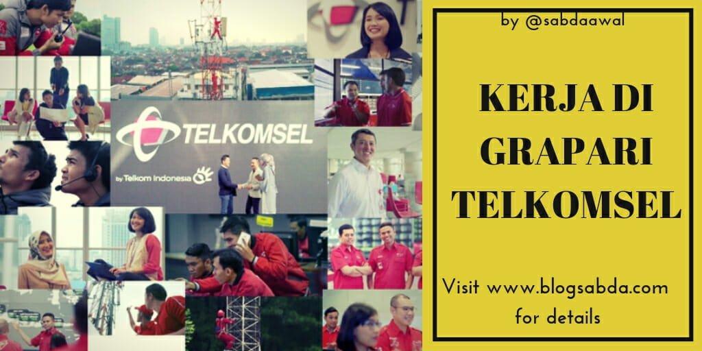 Bekerja di Grapari Telkomsel