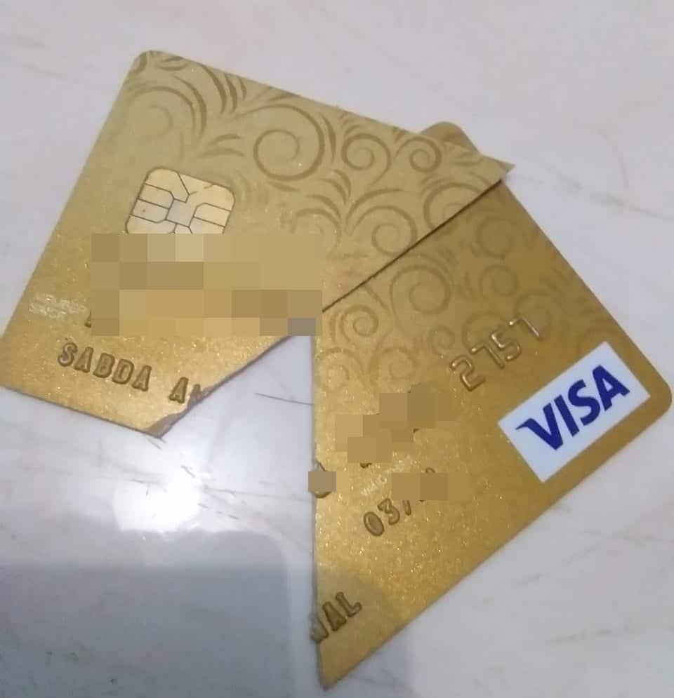 berhenti dari kartu kredit
