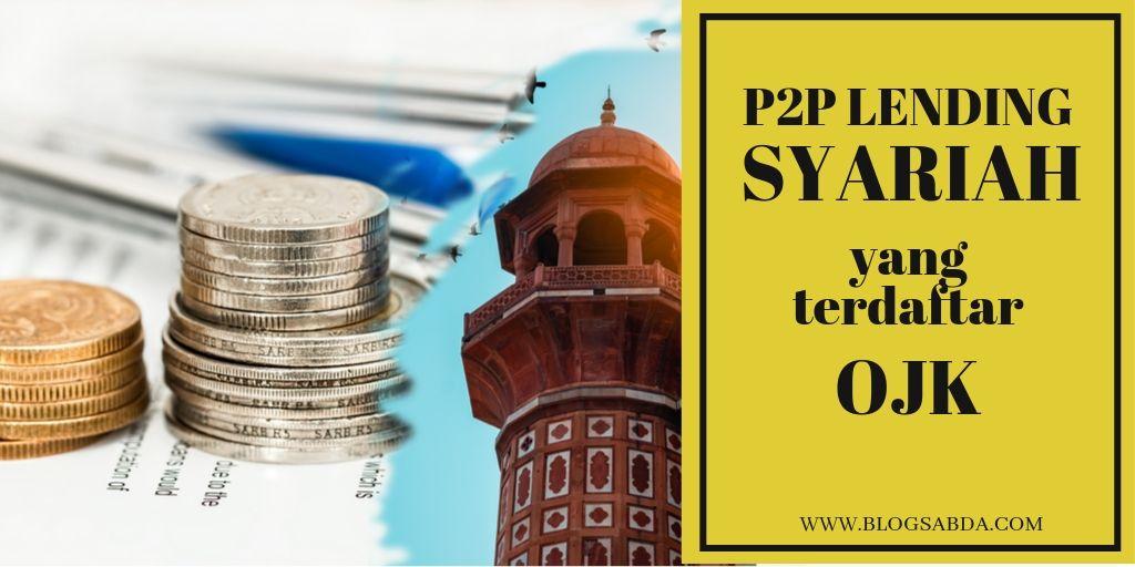 Peer to Peer Lending Syariah Terdaftar di OJK