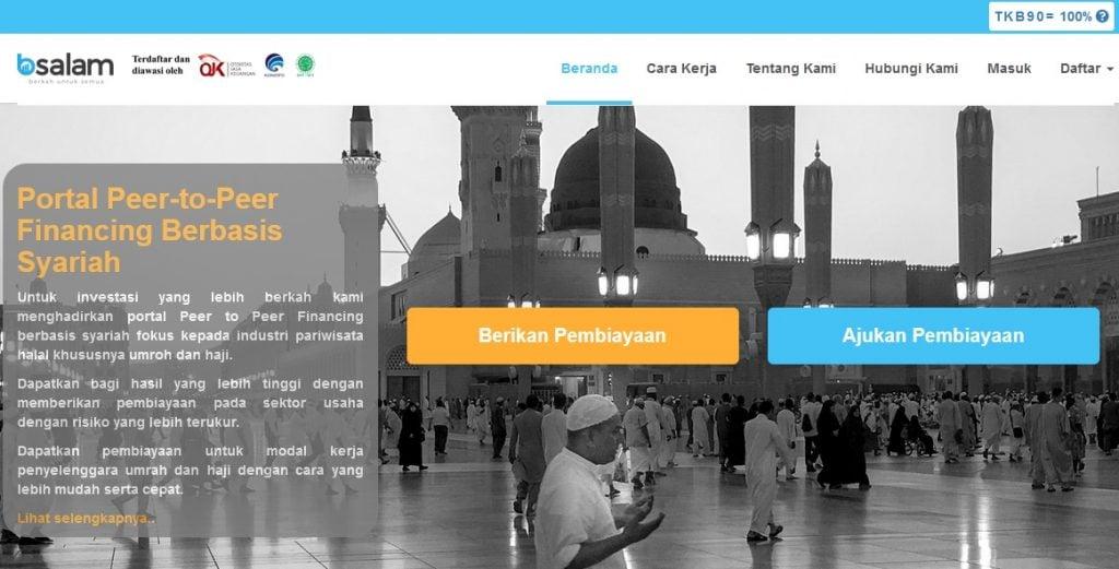 peer to peer lending syariah Bsalam